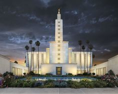 LA California LDS Temple