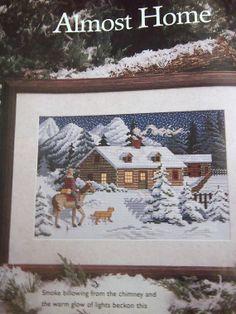 Just Cross Stitch Pattern Magazine December 1997 by NeedANeedle, $4.75