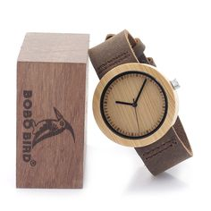 Brand your own watches Japanese movement bamboo wood watch Wooden Watch, Cool Things To Buy, Stuff To Buy, Brand You, Quartz Watch, Soft Leather, Band, Crystals, Gifts