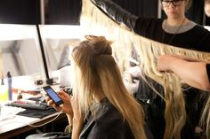 Behind the scenes at New York Fashion Week F/W13