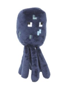 Minecraft squid plushie