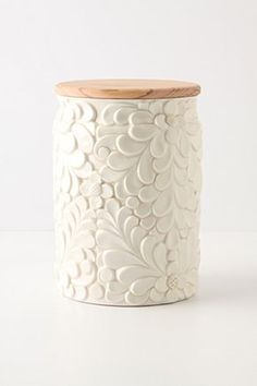 verdant canister £48 Anthropologie