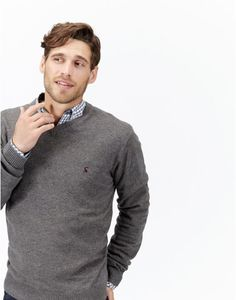 RETFORDV-Neck Jumper Joules Christmas Wish List