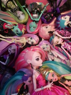 Monster high reroots by Sara Seibel