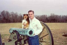 Monty and Harold at Shiloh, 2003