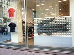 Lacoste Window | Fabricated by Creative NYC #MadeByCreativeNYC