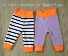 Ahora que ya os puse patrones y tutorial para la camiseta Ona, vamos a por el pantalón.         Son muy sencillos, y os va a apetecer coser... Sewing For Kids, Baby Sewing, New Kids, Cool Kids, Baby Boy Outfits, Kids Outfits, Cute Babies, Baby Kids, Baby Pants
