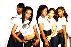 Some of the Ladii Diva Team Street Team