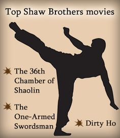 Top Shaw Brothers films