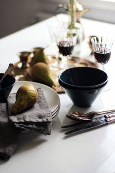 RAW design blog | DINNER TABLE SETTING
