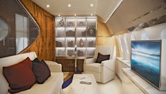 Sky High Private Jet Interiors Like You've Never Seen | Aviation