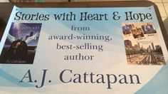Look what came in the mail today! Getting ready for my upcoming book signings!