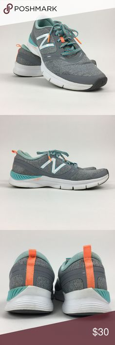 New Balance Gray Active Wear Sneaker Size 8.5 New Balance Women's Gray & Green Active Wear Sneakers WX711SW Size 8.5  Size: US 6M UK 4 EU 36.5 Asia 22.5 New Balance Shoes Sneakers