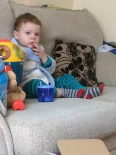 A letter I wrote to my poorly toddler. He was feeling very sorry for himself and so was I!