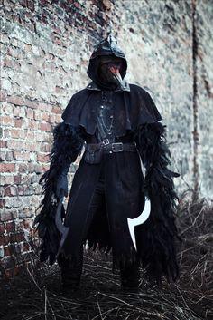 Bloodborne- Eileen the Crow cosplay
