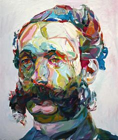 """Aaron Smith """"Chopsy"""",2011, oil on panel, 28""""x24"""""""