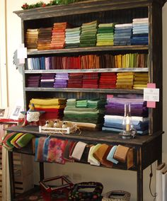 Hand Dyed wool....great storage too.