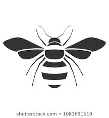 Bumble Bee Clipart, Bee Outline, Honey Bee Drawing, Bumble Bee Illustration, Bee Icon, Bee Coloring Pages, Cool Stencils, Bee Images, Bee Tattoo