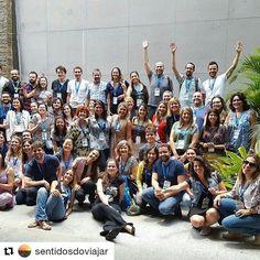 #Repost @sentidosdoviajar with @repostapp  Olha quanta gente para lhe ajudar a viajar mais e melhor!!! Pela alegria do pessoal dá pra ver o quanto foi bom o Encontro da Rede Brasileira de Blogueiros de Viagem que aconteceu neste fim de semana em Belo Horizonte. Bom demais!!! @Encontrorbbv2016 #rbbv #booking @viajanet @belotur @zarpobrasil @latam @belohorizontemg  @choperiaalbanos @easysim4u @museudeartedapampulha #map #sentidosdoviajarviagem #qualityhotelpampulha