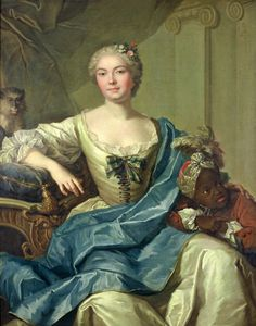 Aquitaine, Joseph, Rococo Fashion, Female Portrait, 18th Century, The Past, Fine Art, Classic, Painting