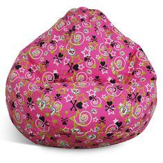 Print and Plush Bean Bag Chair - http://delanico.com/bean-bag-chairs/print-and-plush-bean-bag-chair-588816392/