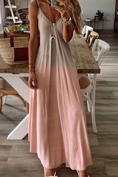 Exceptional women dresses are readily available on our internet site. Have a look and you will not be sorry you did. Maxi Dress Summer, Hot Dress, Summer Dresses, Vacation Dresses, Casual Dresses, Casual Outfits, Fashion Outfits, Womens Fashion, Maxi Dress Outfits