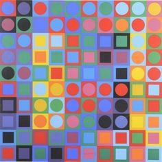 None - Victor Vasarely - Planetory Folklore Participation