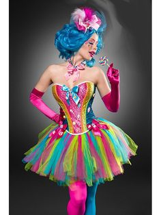 Costume Colorful Candy Girl Sexy Mardi Gras Carnival Ladies Disguise Halloween NEW candy costumes candy costumes candy costumes candy costumes candy costumes Kids Costumes Boys, Girl Costumes, Costumes For Women, Costume Bonbon, Costume Carnaval, Costume Sexy, Costume Dress, Candy Land Costumes, Maquillage Halloween Clown