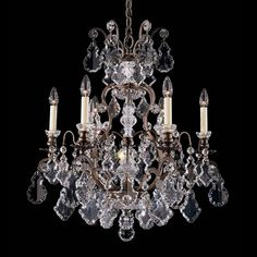 Schonbek Worldwide 2770-23 7 Light Versailles Chandelier