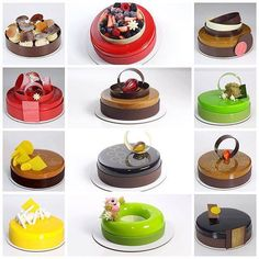 Mousse cake Fancy Desserts, Delicious Desserts, French Sweets, Pastry Cook, Cake Recipes, Dessert Recipes, Cookie Cake Birthday, Chocolate Sweets, Tiny Food