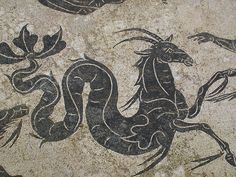 Ancient Capricorn Drawings   ancient capricorn mosaic , originally uploaded by egadsylvia .