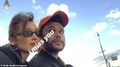 While Bella Hadid is busy hitting the runway for Paris Fashion Week, she took to social media to show how miss she misses her boyfriend The Weeknd.