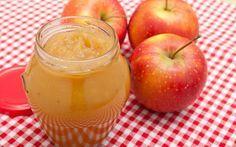 Geleia diet de maçã com canela