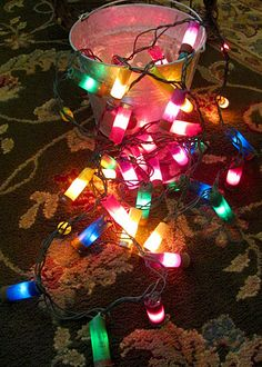 shotgun lights~ rustic home decor- My hubby will love this @Tera Bergfield  Meagan needs these! :)