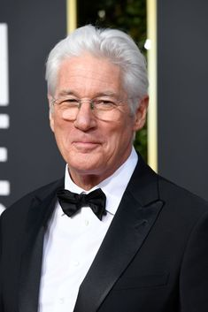 Richard Gere attends the Annual Golden Globe Awards at The Beverly Hilton Hotel on January 2019 in Beverly Hills, California. Get premium, high resolution news photos at Getty Images Beverly Hilton, The Beverly, Ghostwriter, Richard Gere, January 6, Golden Globe Award, Gorgeous Men, Redheads