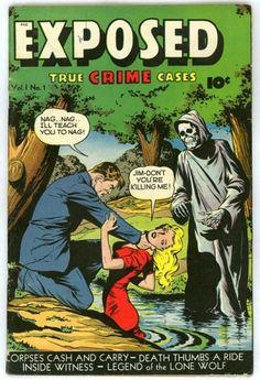 Women in Refrigerators Horror comic cover