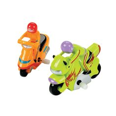 Wind-Up Motorcycles - OrientalTrading.com…for car races on noodles