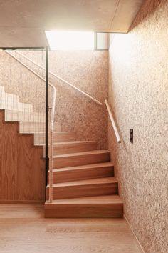 Enebolig Øvre Smedstadvei   wood arkitektur+design Woods, Stairs, House, Oslo, Design, Instagram, Home Decor, Stairway, Decoration Home