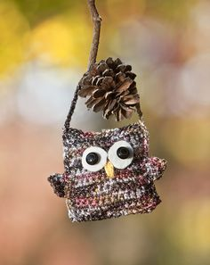 Premier® Yarns Spangle™ Bewitching Owl #crochet #pattern