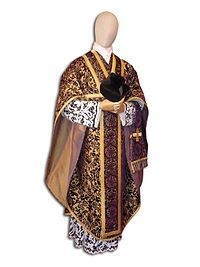 A maniple embroidered with a cross, as worn with a chasuble Gothic Revival Architecture, Gold Work, Roman Catholic, Christianity, Kimono Top, Bomber Jacket, How To Wear, Clothes, Women