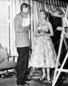 great candid behind the scenes Cary Grant Deborah Kerr 711-12