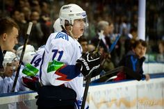 I love pictures of Geno from the KHL