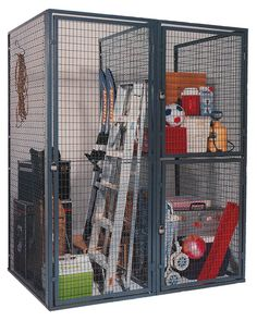 WireCrafters Wire Cages & TA50 Military Gear Locker Photo Gallery | American Warehouse Systems