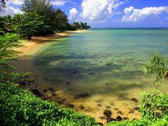 Anini Beach, Kauai Hawaii - Favorite snorkeling place