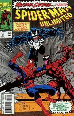 Spider-man Unlimited The Hatred The Horror The Hero (Maximum Carnage The Awesome Conclusion - Marvel Comics) Comic Books For Sale, Marvel Comic Books, Marvel Characters, Comic Books Art, Comic Art, Amazing Spiderman, Amazing Spider Man Comic, Spectacular Spider Man, Comics Spiderman