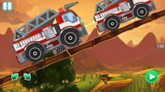 Racing Games For Kids - Fire Truck Racing in Valley For Children - Video Games For Kids Racing Games For Kids, Video Games For Kids, Fire Trucks, Race Cars, Monster Trucks, Children, Drag Race Cars, Young Children, Kids