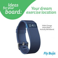 Fitbit Charge Heart Rate + Activity Wristband #1040pts #flybuysnz Fitbit Charge, Heart Rate, Dreaming Of You, Abs, Sporty, Exercise, Teaching, Times, Ejercicio