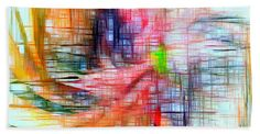 Towel - Abstract 9586