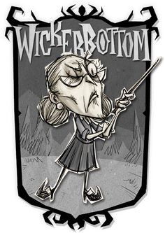 Wickerbottom | Don't Starve Together Character Portraits