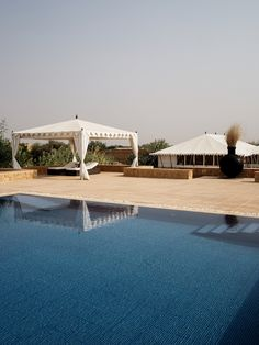 The Serai tented camp in Jaisalmer, India Tent Camping, Camping Hacks, Outdoor Camping, Unique Honeymoon Destinations, Travel Destinations, Travel Tips, Cities, Go Outdoors, India Travel